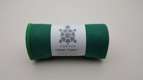 """Aquatic """"Hand"""" Towel - Green 1"""