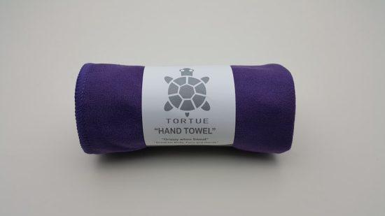 "Aquatic ""Hand"" Towel - Purple 1"