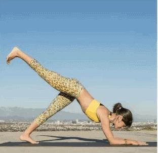 senam yoga - otot perut