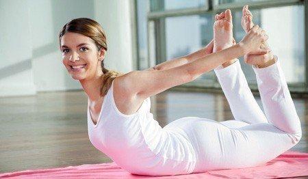 posisi yoga untuk perut buncit