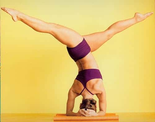 gerakan yoga - inversion pose