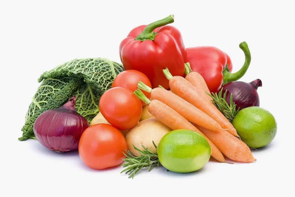 pola hidup sehat makan sayuran