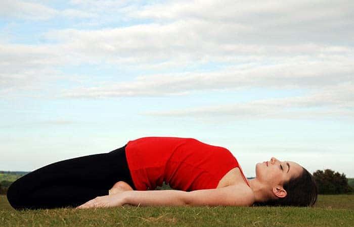 gerakan yoga - memperbaiki postur tubuh