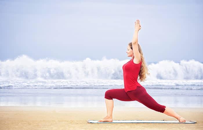 warrior yoga pose - memperbaiki postur tubuh