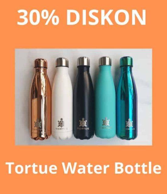 DISKON 30% TORTUE WATER BOTTLE