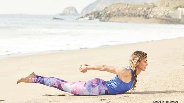 berlatih yoga - tiffany russo
