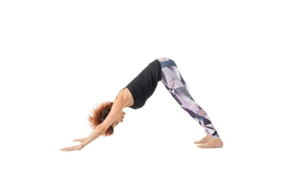 Gerakan Yoga Adho Mukha Svanasana
