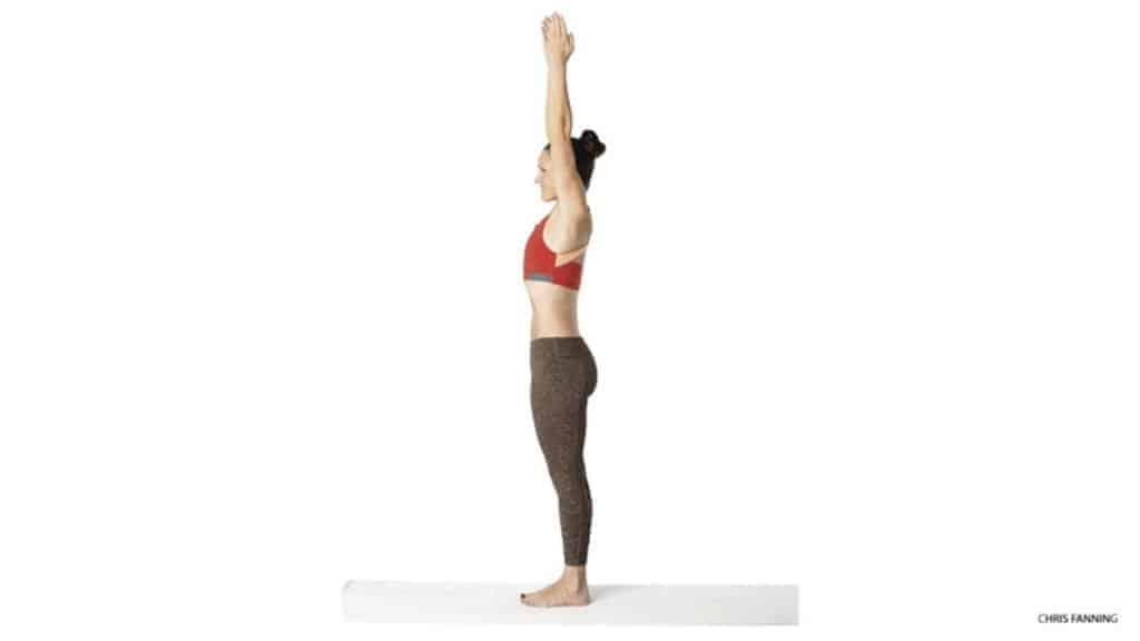 gerakan yoga tadasana