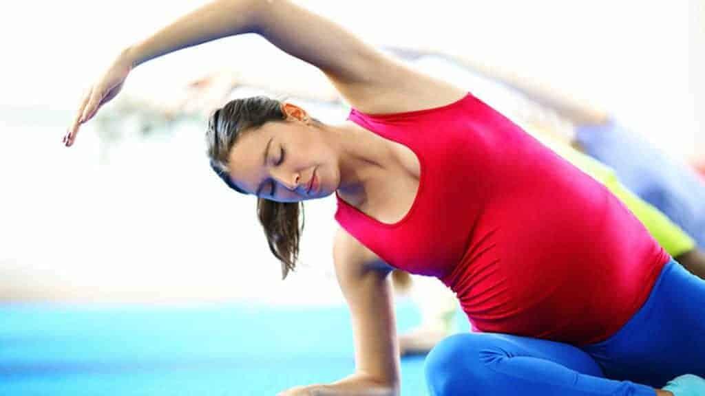 prenetal yoga