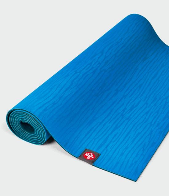 eKO Lite Yoga Mat 4mm - DRESDEN BLUE 1