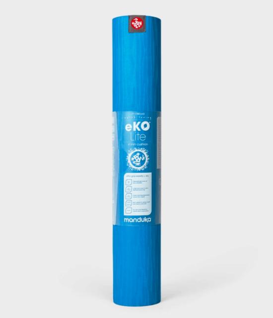 eKO Lite Yoga Mat 4mm - DRESDEN BLUE 2