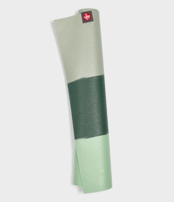 manduka superlite - green ash stripe