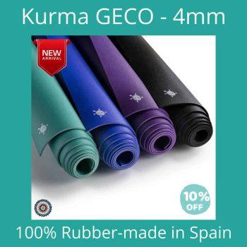 kurma GECO yoga mat/ matras yoga -10% discount