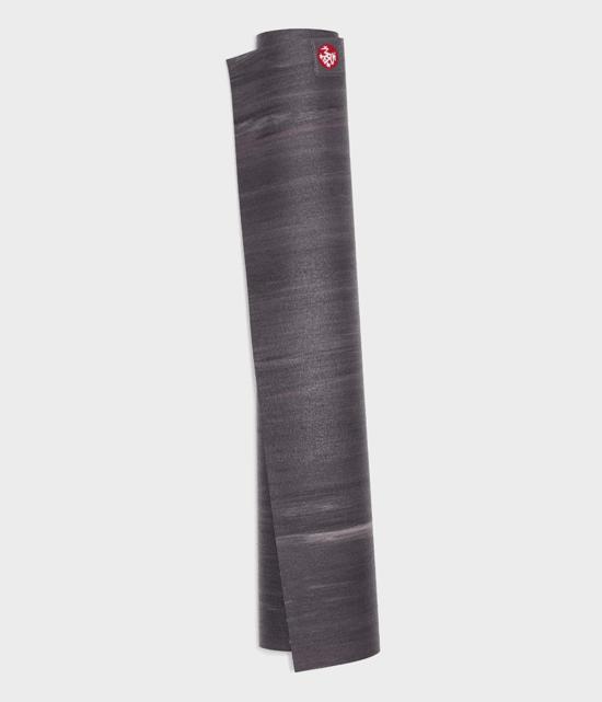 manduka Superlite Yoga Mat / Matras Yoga - black amethyst marbled