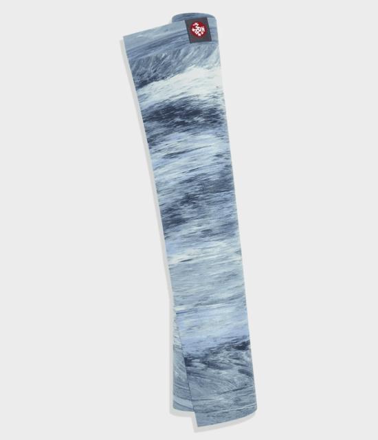 manduka Superlite Yoga Mat / Matras Yoga - Sea Foam Marbled