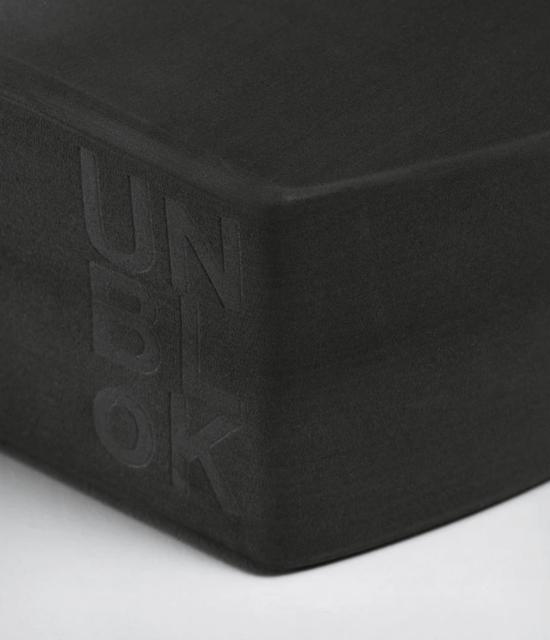 manduka FOAM YOGA UNBLOCK - THUNDER (grey) 1