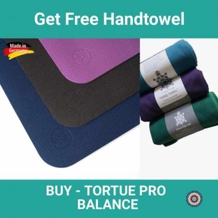 free tortueyoga handtowel - buy tortue pro balance